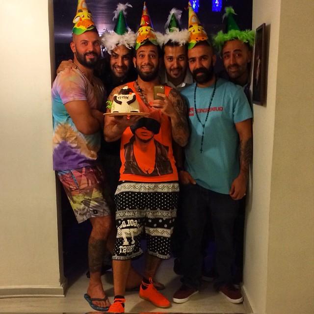رقص جنجالی تتلو در جشن تولدش غوغا به پا کرد + فیلم و تصاویر