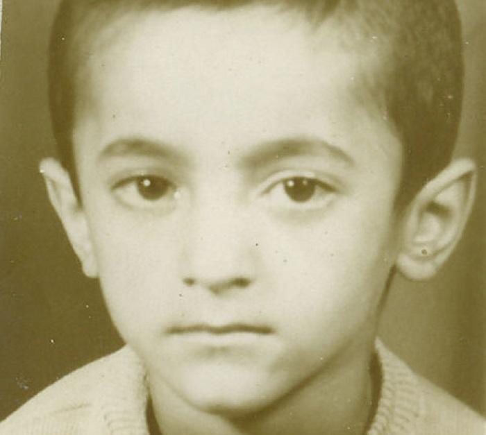 محمد یعقوبی در کودکی