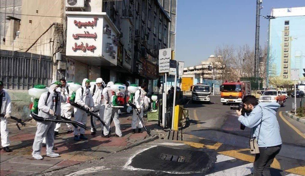 قرنطینه تهران بخاطر کرونا