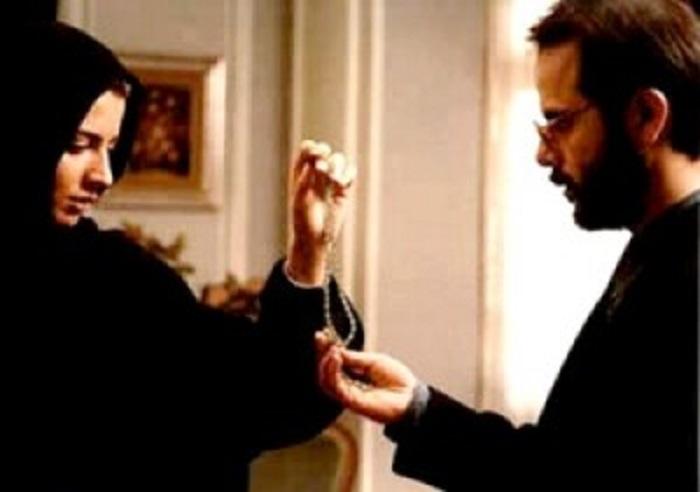علی مصفا و لیلا حاتمی در فیلم لیلا