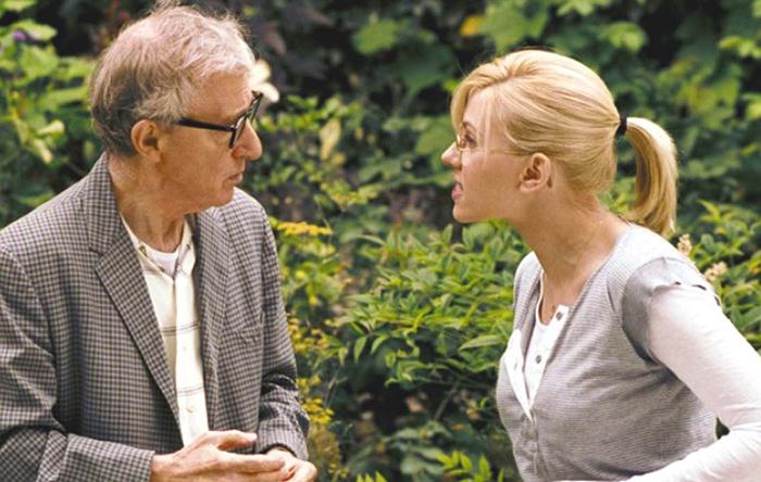 وودی آلن و اسکارلت یوهانسون