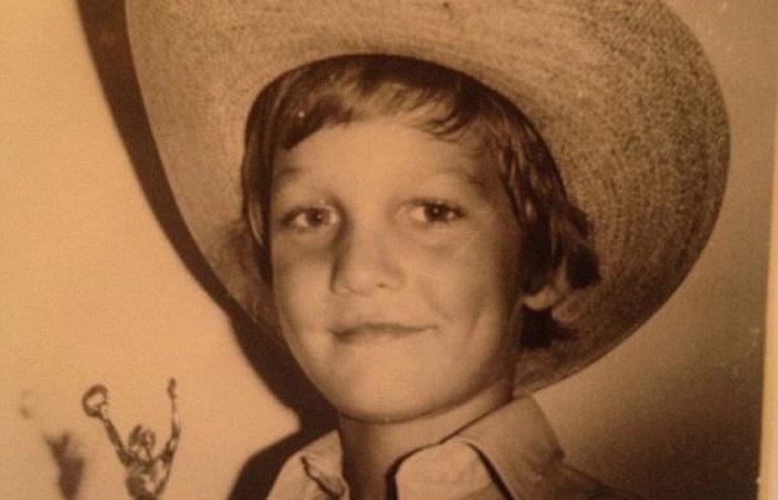 متیو مک کانهی در کودکی