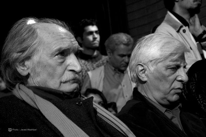 بهرام بیضایی و محمود دولت آبادی