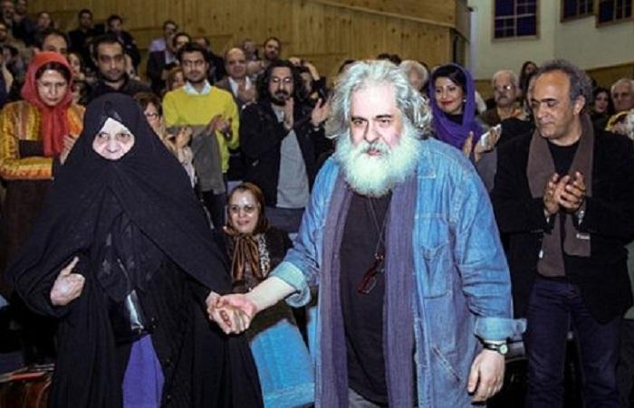 محمد رحمانیان و مادرش