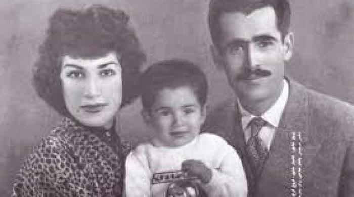 فروغ فرخزاد پرویز شاپور و پسرشان کامیار