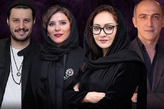 نیکی کریمی و بازیگران فیلم آتابای