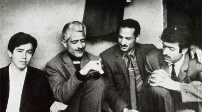 ابراهیم گلستان و جلال آل احمد