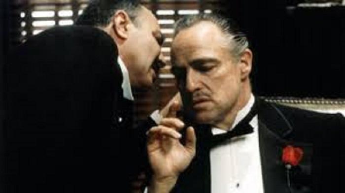 مارلون براندو در فیلم پدرخوانده