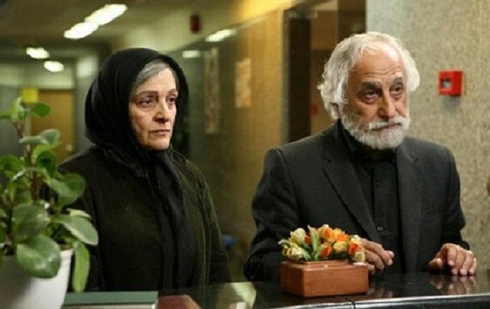 گلاب آدینه و شمس لنگرودی در فیلم دوباره زندگی
