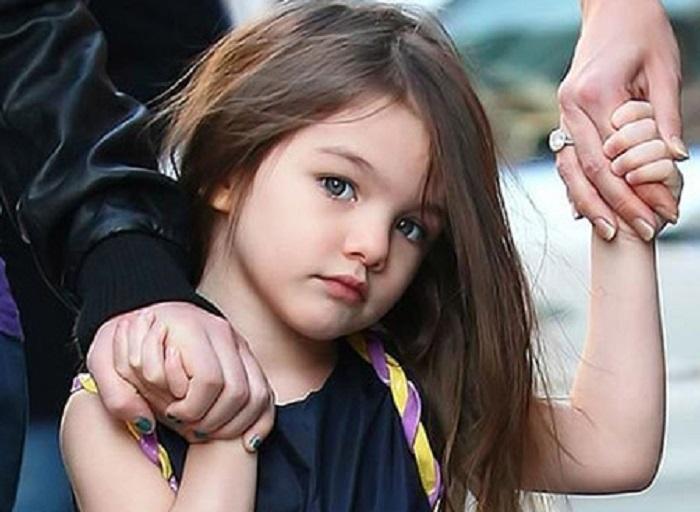 سوری، دختر تام کروز و کیتی هولمز