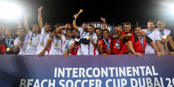 اعلام زمان بازگشت تیم ملی فوتبال ساحلی به کشور