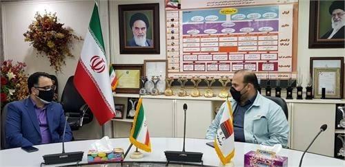 شرکت فولاد خوزستان میزبان مدیران ارشد بانک رفاه کارگران استان خوزستان بود