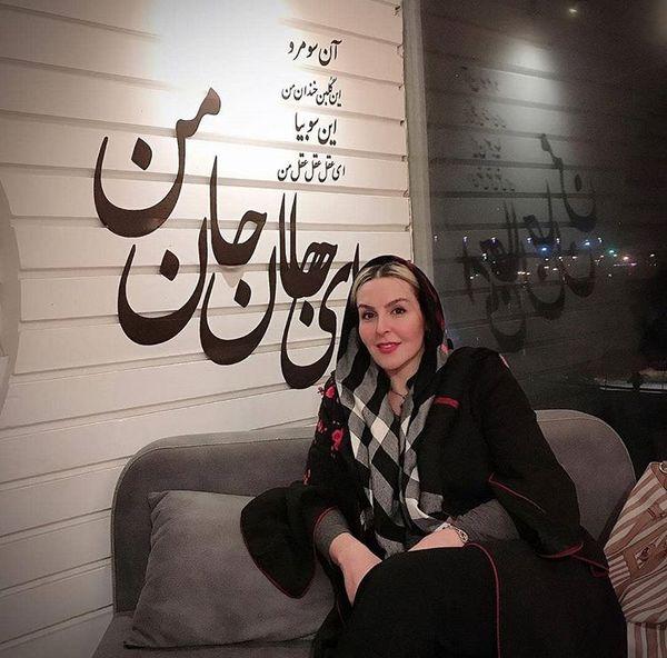 آزیتا ترکاشوند در یک مکان خاص و لاکچری + عکس
