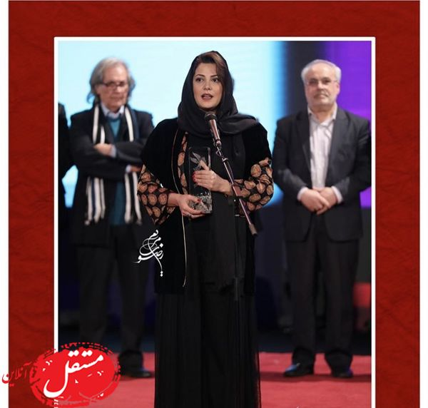 سیمرغ بلورین خانم بازیگر در جشنواره فجر + عکس