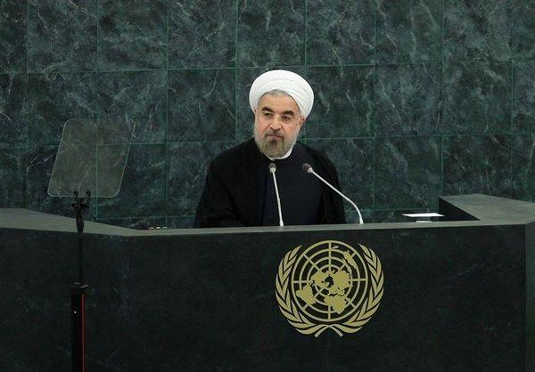 ارائه «ابتکار صلح هرمز» ، توسط روحانی در سازمان ملل