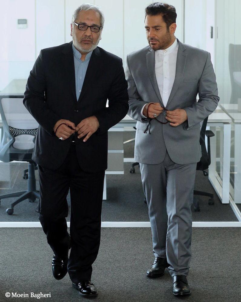 مهران مدیری و محمدرضا گلزار در یک فیلم - ایسنا
