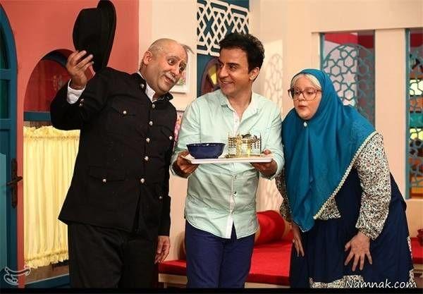 عمو پورنگ و نعیمه نظام دوست