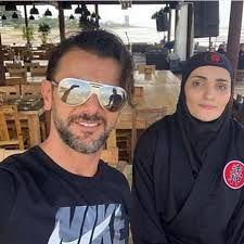 عکس دیده نشده امین حیایی در اغوش همسر دومش  + بیوگرافی