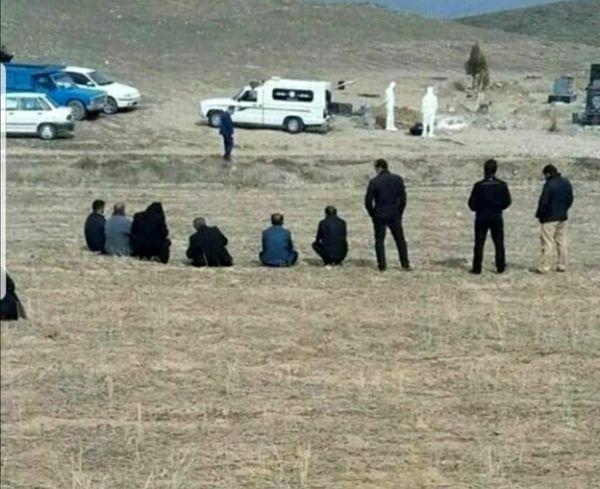 تصویر منتشر شده از دفن یک کرونایی در شبکه های اجتماعی