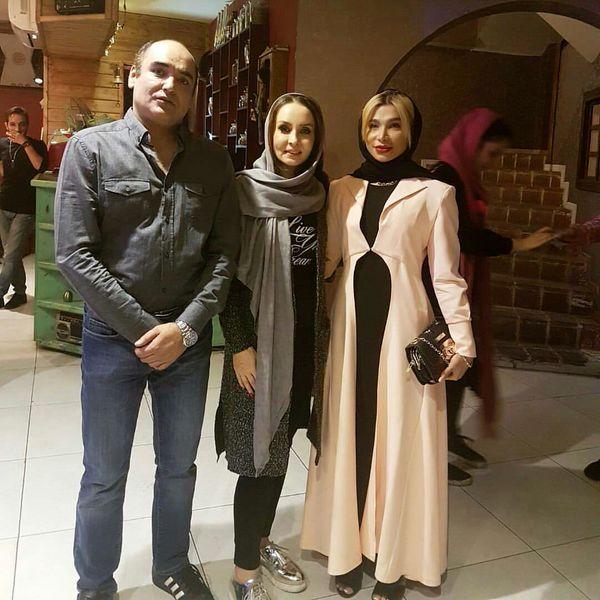 حدیث فولادوند و همسرش رامبد شکرابی + عکس