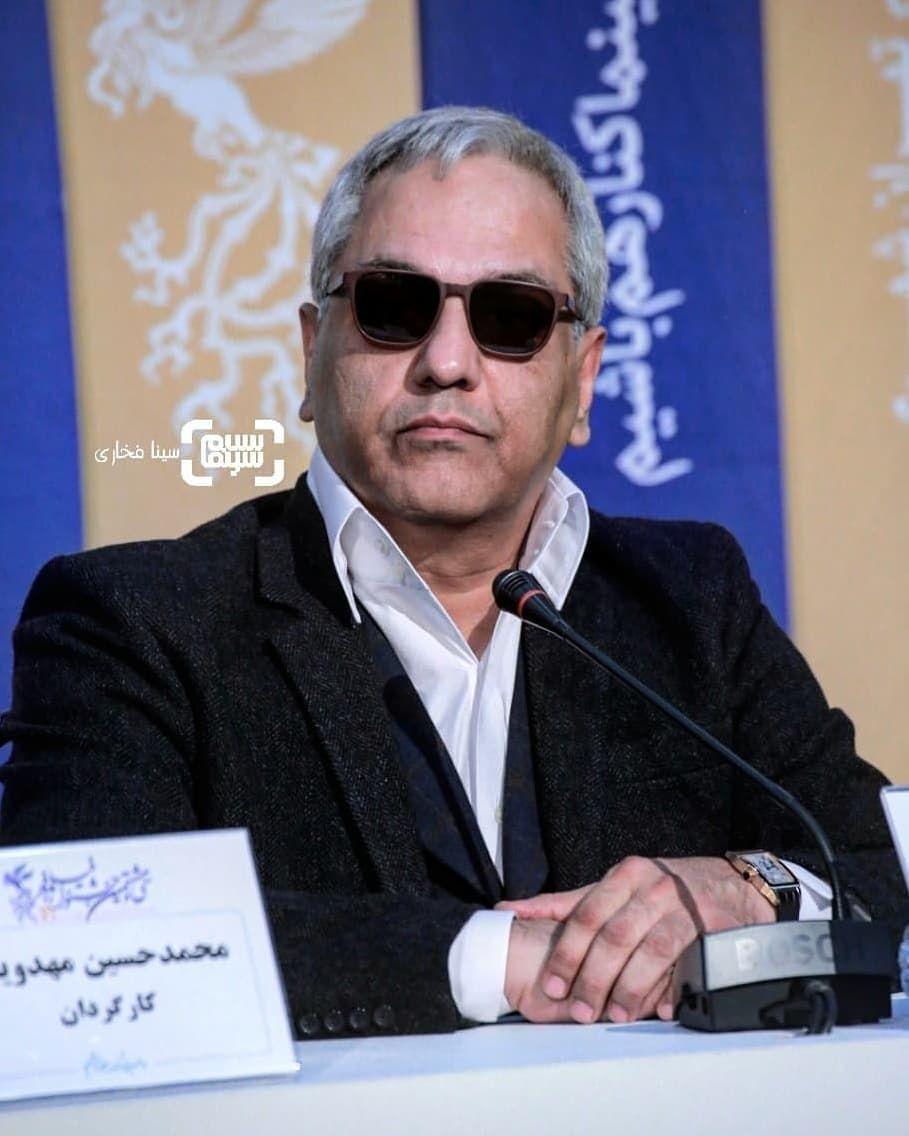 تیپ خفن مهران مدیری در جشنواره فجر + عکس