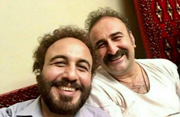 رضا عطاران و مهران احمدی