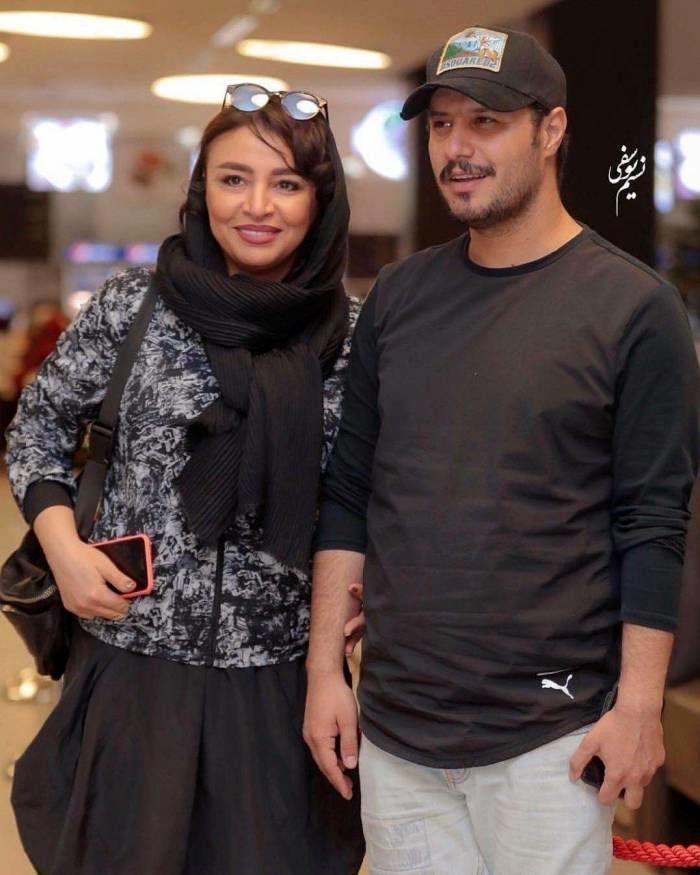 فاصله سنی جواد عزتی و همسرش مه لقا باقری