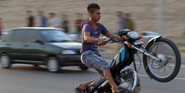 حرکات نمایشی با موتورسیکلت در بجنورد، حادثه آفرید