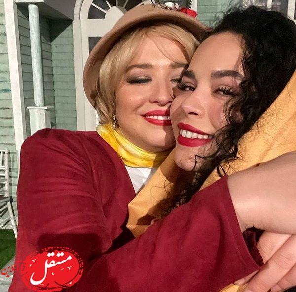 عشق خانم بازیگر مری پاپینز به خواهرش + عکس