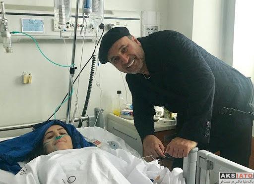 عیادت هنرمندان از الناز شاکردوست در بیمارستان (10 عکس) - عکسیاتو ...