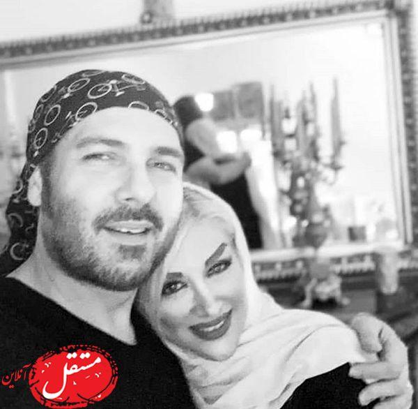 عاشقانه های کوروش تهامی و همسرش + عکس