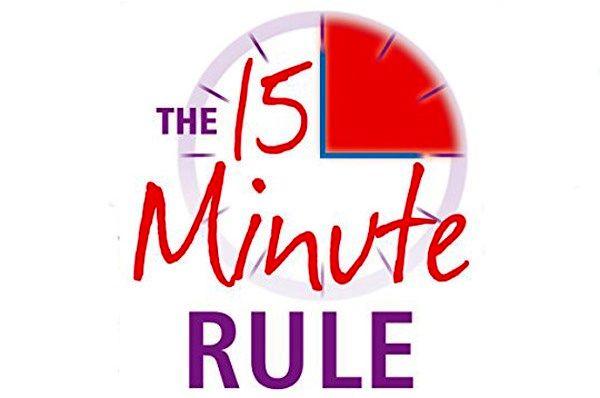 کاربرد قانون 15 ثانیه + عکس