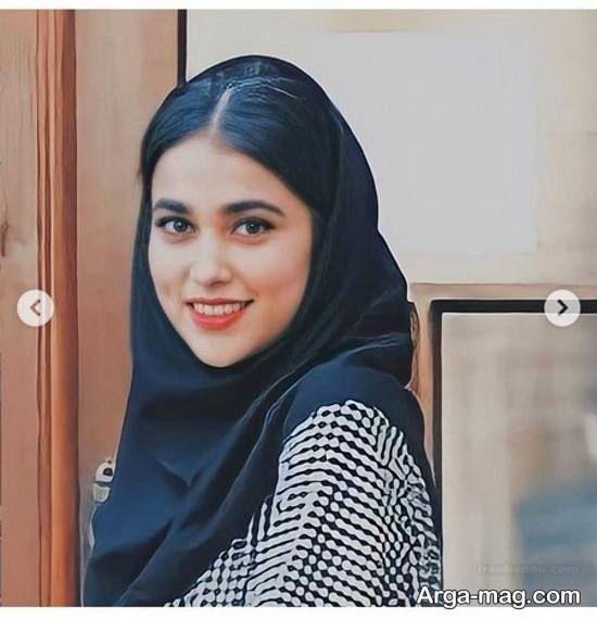 ظاهر جدید آدرینا صادقی بازیگر سریال احضار (عکس)