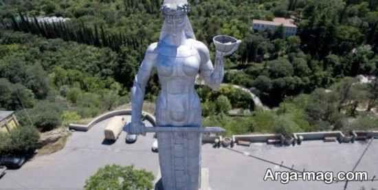 مجسمه تاریخی تفلیس