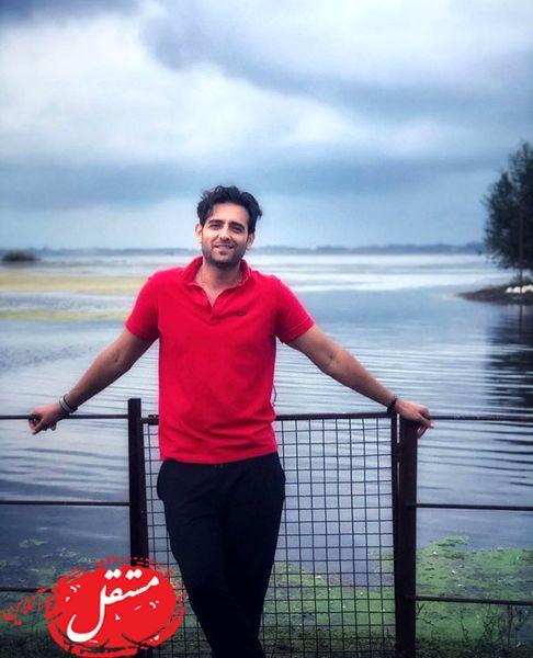 آقای مانکن در دریاچه + عکس