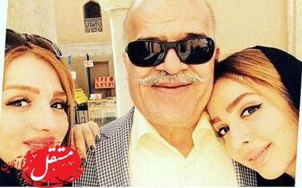 المیرا دهقانی به همراه پدر و مادرش + عکس