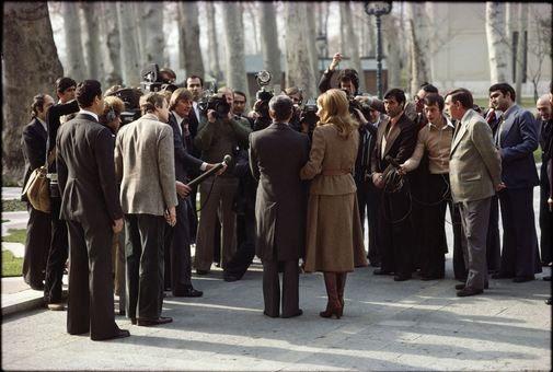 آخرین کنفرانس خبری شاه با رسانه های خارجی - روز سال نو 1979