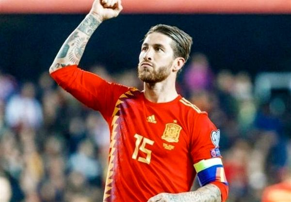 راموس پس از ثبت رکورد بازی در تیم ملی اسپانیا: میخواهم ۲۰۰ تایی شوم!