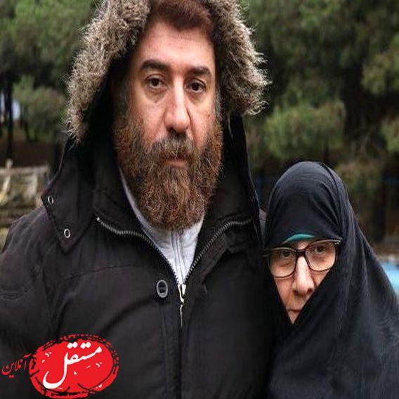 پیام غمگین و تلخ مادر علی انصاریان برای مردم ایران + عکس