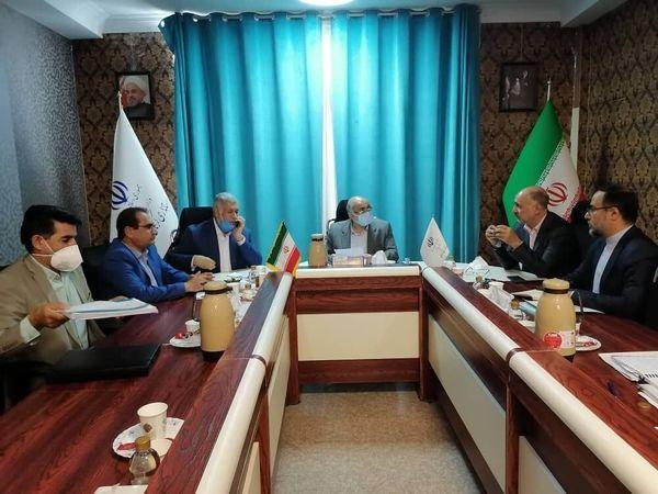 نشست بررسی روند اجرای طرحهای توسعهای گلگهر برگزار شد