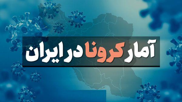 آمار کرونا در ایران چهارشنبه 12 شهریور