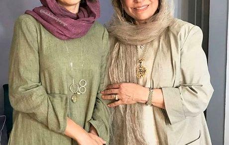 لیلا حاتمی و مادرش در مردی بدون سایه + عکس