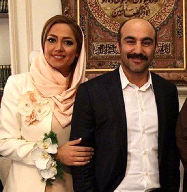 روشنک گلپا همسر محسن تنابنده