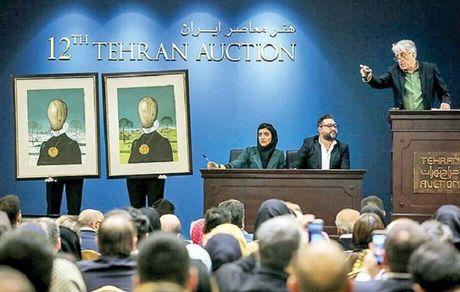 واکنشها به برگزاری حراج هنری تهران