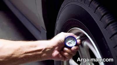 میزان باد خودرو در حالت استاندارد باید چه قدر باشد ؟
