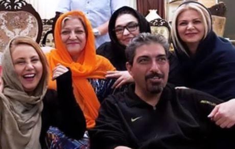 خانم بازیگر در جمع شاد خانواده اش + عکس