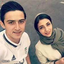 سردارآزمون  عاشقانه های دیده نشده با همسرش + عکس و بیوگرافی