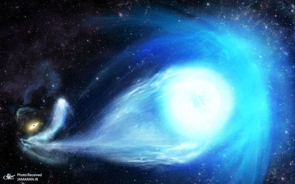 خروج یک ستاره از سیاه چاله در مرکز کهکشان