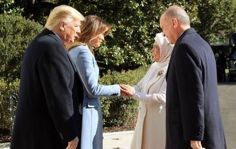 سفر اردوغان به کاخ سفید