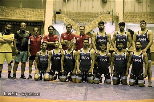 تیم کشتی فرنگی ایران قهرمان امیدهای جهان شد